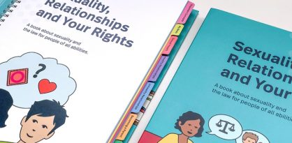 """Example page (""""Introduction"""") from the current Sexuality, Relationships and Your Rights book."""
